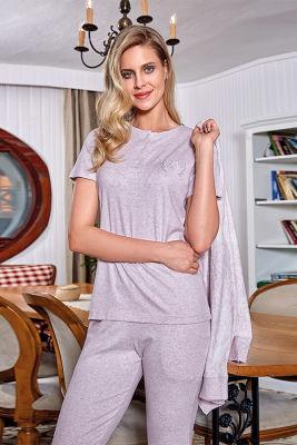 Berrak - Berrak 493 Bayan 3'lü Pijama Takımı