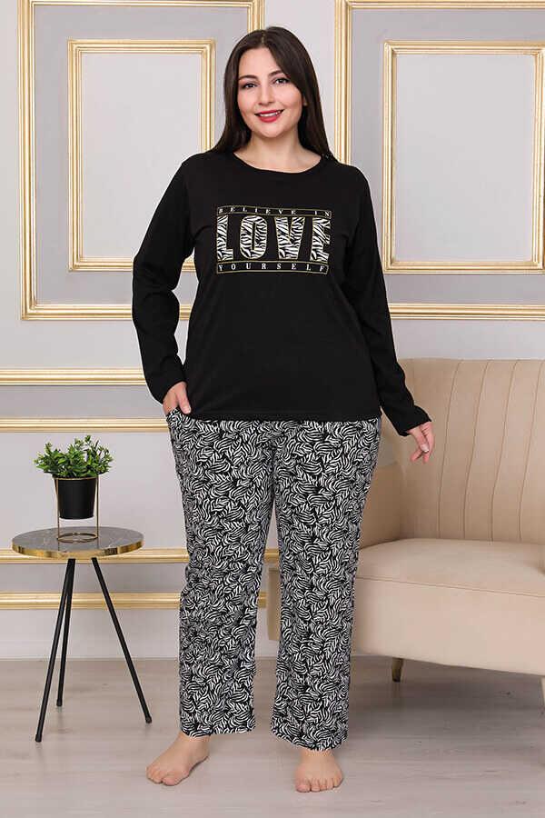 Berland 3258 Büyük Beden Kadın Pijama Takımı