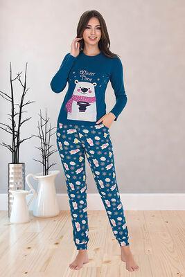 Berland - Berland 3308 Kadın Pijama Takımı