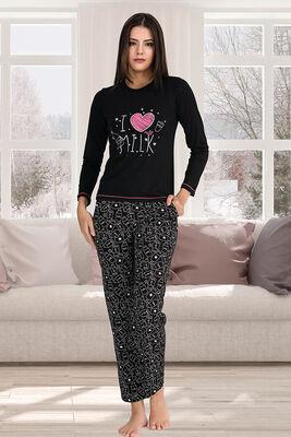 Berland - Berland 3310 Kadın Pijama Takımı