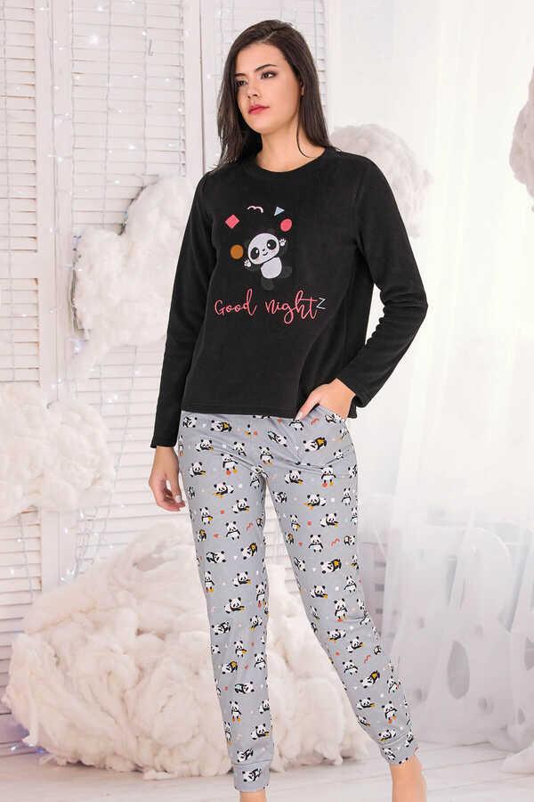 Berland 3328 Kadın Polar Pijama Takımı