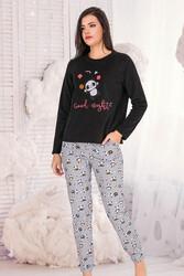 Berland - Berland 3328 Kadın Polar Pijama Takımı