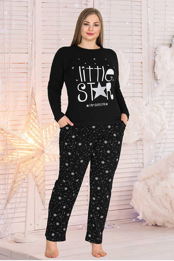 Berland 3330 Büyük Beden Kadın Pijama Takımı