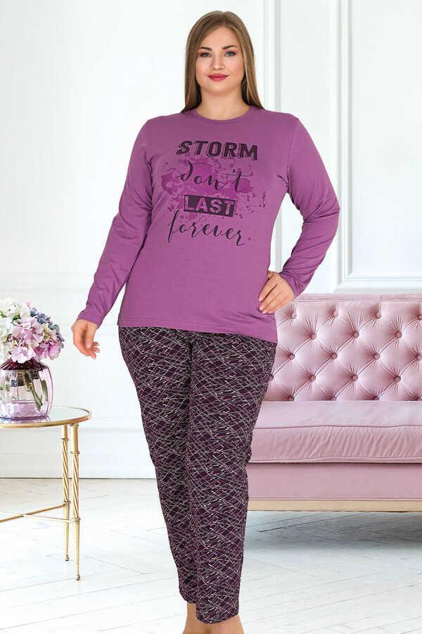 Berland 3335 Büyük Beden Kadın Pijama Takımı
