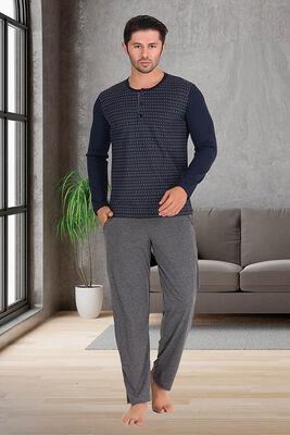 Berland - Berland 3862 Erkek Pijama Takımı