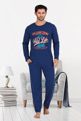 Berland - Berland 3869 Erkek Pijama Takımı