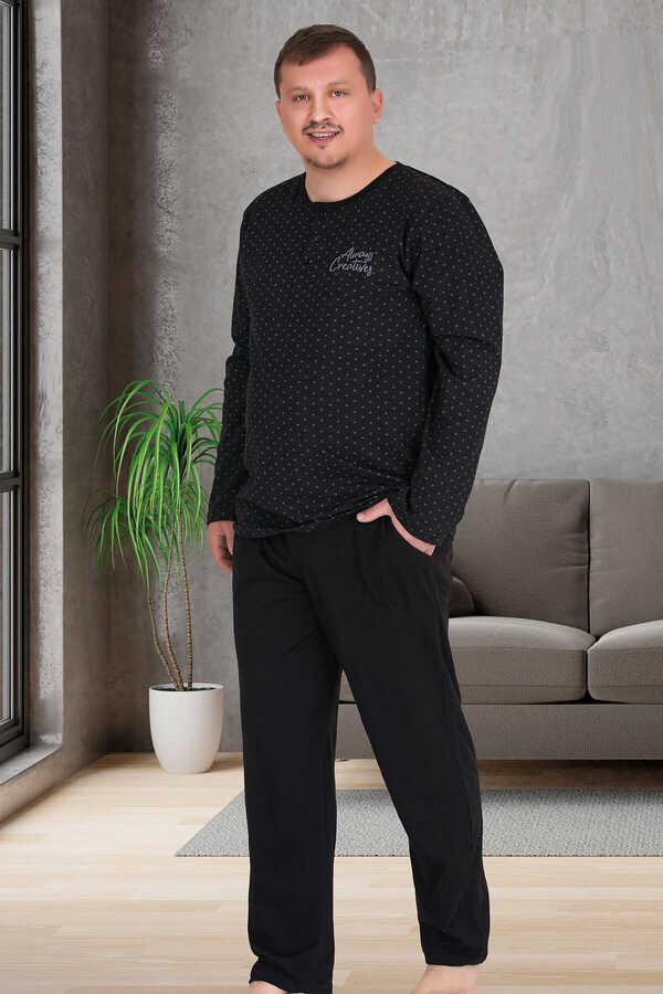 Berland 3877 Büyük Beden Erkek Pijama Takımı