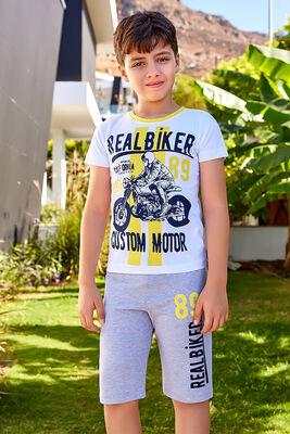 Berrak - Berrak 5385 Erkek Çocuk Şort Takım