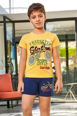 Berrak - Berrak 5387 Erkek Çocuk Şort Takım