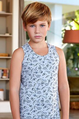Berrak - Berrak 5424 Erkek Çocuk Üçlü Atlet