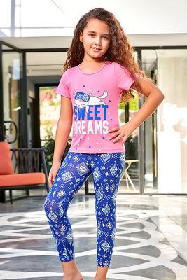 Berrak - Berrak 5573 Kız Çocuk Tayt Takım