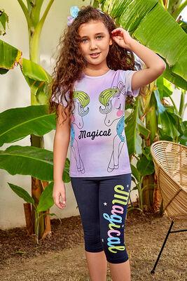 Berrak - Berrak 5574 Kız Çocuk Tayt Takım
