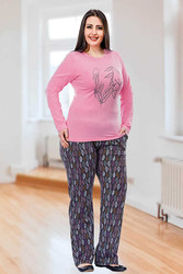 Berland - Berland 3093 Büyük Beden Bayan Pijama Takımı