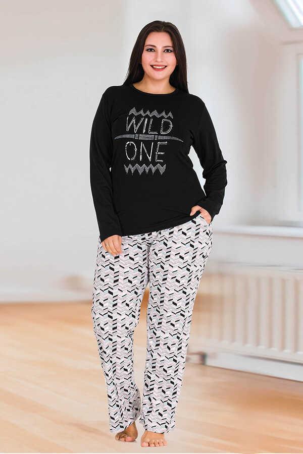 Berland 3124 Büyük Beden Kadın Pijama Takımı