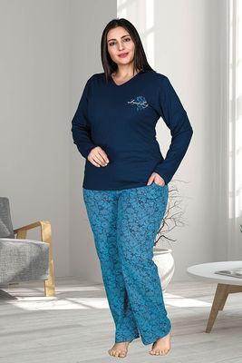Berland - Berland 3220 Büyük Beden Bayan Pijama Takımı