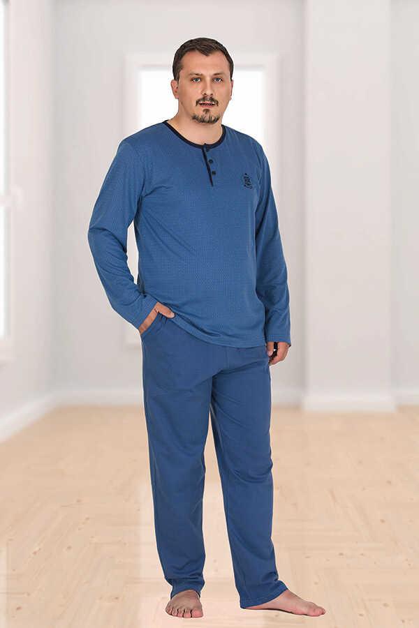 Berland 3759 Büyük Beden Erkek Pijama Takımı