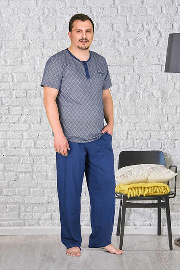 Berland 3799 Büyük Beden Erkek Pijama Takımı