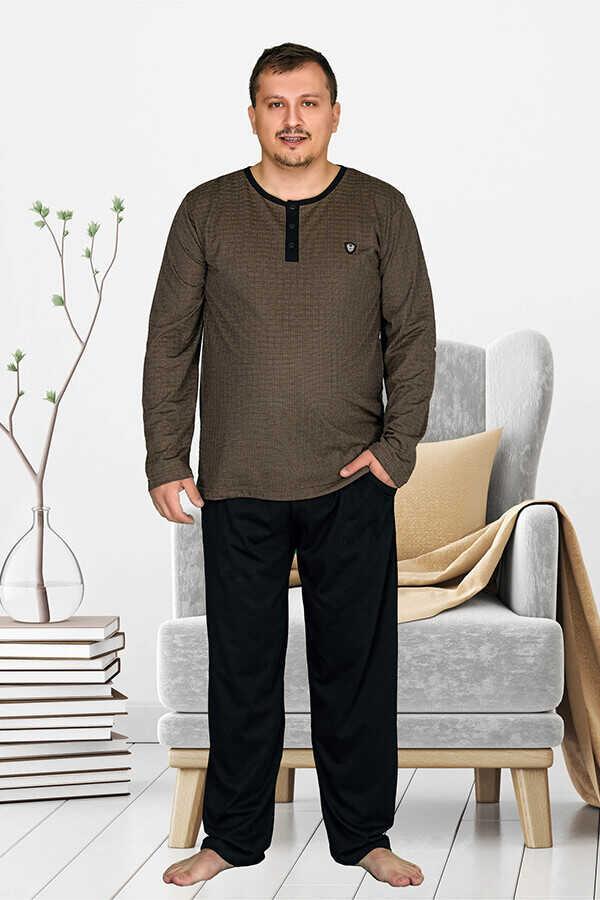 Berland 3803 Büyük Beden Erkek Pijama Takımı