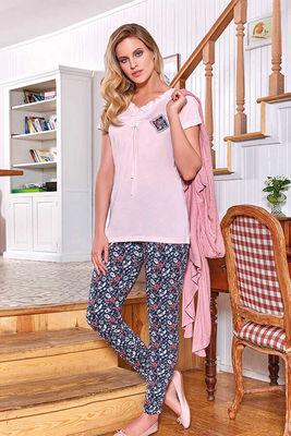 Berrak - Berrak 507 Kadın 3'lü Pijama Takımı