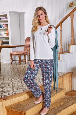 Berrak - Berrak 508 Kadın 3'lü Pijama Takımı