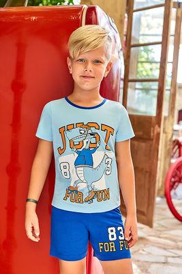 Berrak - Berrak 5355 Erkek Çocuk Şort Takım