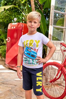 Berrak - Berrak 5357 Erkek Çocuk Şort Takım