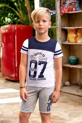 Berrak - Berrak 5358 Erkek Çocuk Şort Takım