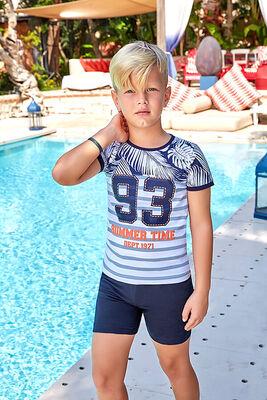Berrak - Berrak 5372 Erkek Çocuk Şort Takım