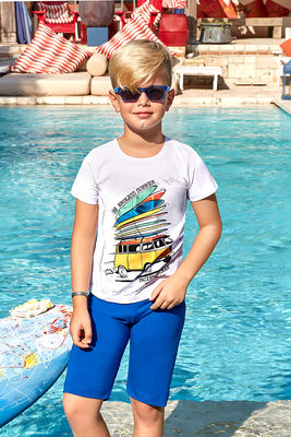 Berrak - Berrak 5374 Erkek Çocuk Şort Takım