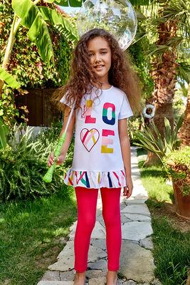 Berrak - Berrak 5522 Kız Çocuk Tayt Takım