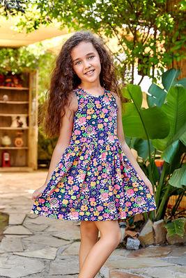 Berrak - Berrak 5535 Kız Çocuk Elbise