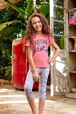 Berrak - Berrak 5537 Kız Çocuk Tayt Takım