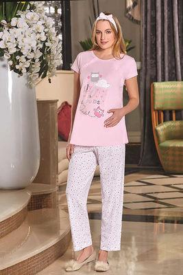 Berrak - Berrak 593 Bayan Hamile Pijama Takımı