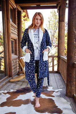 Berrak - Berrak 633 Bayan 3'lü Pijama Takımı