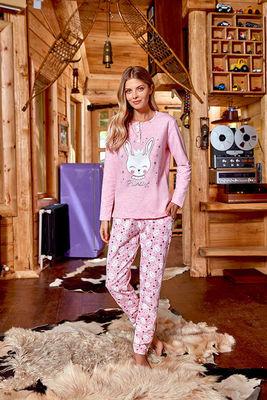 Berrak - Berrak 637 Bayan 3'lü Pijama Takımı