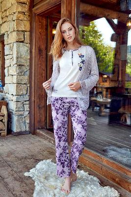 Berrak - Berrak 650 Kadın 3'lü Pijama Takımı
