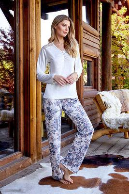 Berrak - Berrak 652 Bayan 3'lü Pijama Takımı