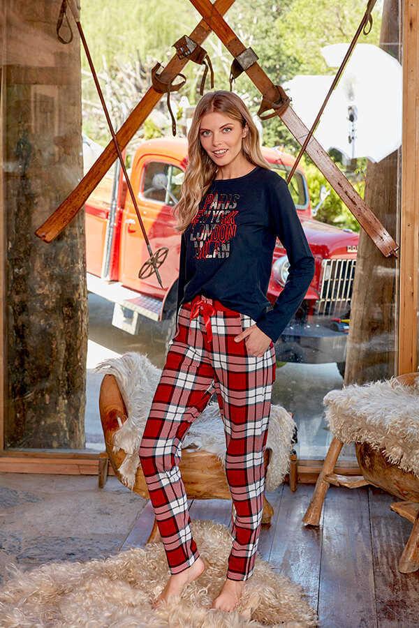 Berrak 669 Bayan Pijama Takımı