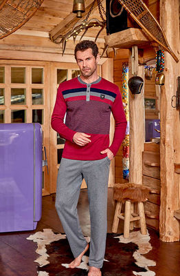 Berrak - Berrak 688 Erkek Pijama Takımı