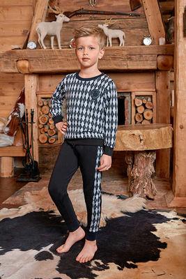 Berrak - Berrak 713 Erkek Çocuk Pijama Takımı