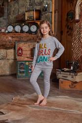 Berrak - Berrak 719 Kız Çocuk Pijama Takımı