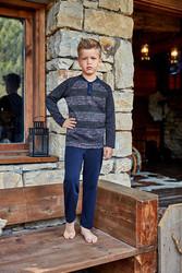 Berrak - Berrak 724 Erkek Çocuk Pijama Takımı