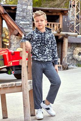 Berrak - Berrak 726 Erkek Çocuk Pijama Takımı