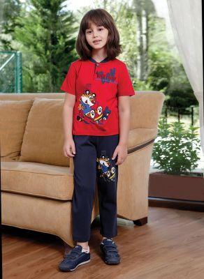 Berrak - Berrak 7663 Erkek Çocuk Pijama Takımı