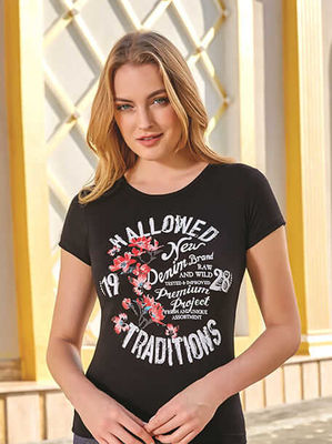 Berrak - Berrak 8075 Kadın T-Shirt