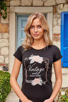 Berrak - Berrak 8099 Kadın T-Shirt