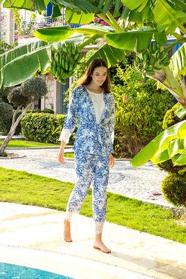 Berrak - Berrak 863 Bayan Üçlü Pijama Takımı