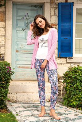 Berrak - Berrak 893 Kadın Üçlü Pijama Takımı