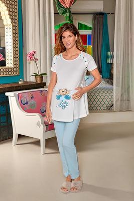 Berrak - Berrak 897 Bayan Hamile Pijama Takımı