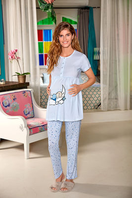 Berrak - Berrak 898 Bayan Hamile Pijama Takımı